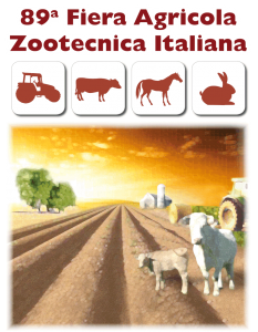 89th edition of the Italian Fair of Agriculture and Zootechnics